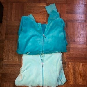 Juicy Couture Zip Up Set